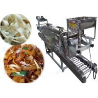 Quality Big Capacity Ho Fun Noodles Making Machine , Rice Noodles Steaming Machine for sale