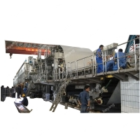 China CE 1575mm 30 Tons / Day A4 Paper Making Machine on sale