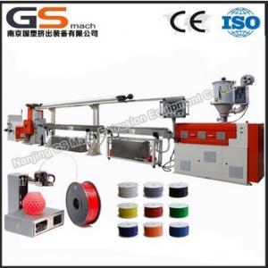 Quality 3d printer filament extrusion line for sale