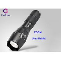 Quality 800LM Rechargeable Led Flashlight / Brightest Handheld Flashlight CREE XML T6 Adjustable ZOOM for sale