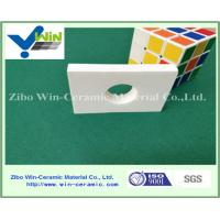 Quality Wear resistant white alumina ceramic sheet with high temperature resistance for sale