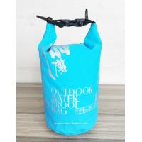 Quality Light-Weight Tarpaulin PVC 2L Waterproof Dry Bags , Rolling-top  Dry Tube Bag for sale