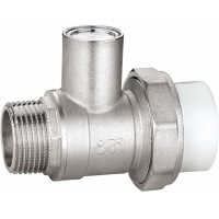 """Quality 1107 Nickel Plated Magnetic Lockable Ball Valve Male Threaded End 3/4"""", 1"""", 1-1/4"""" x Flexible PP-R pipe End 25, 32, 40 for sale"""