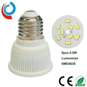 Quality 420~440lm E27 Ceramic Light Bulb SMD 5630 LED PAR16 5 Watt With 90~250V Wide Voltage Input for sale