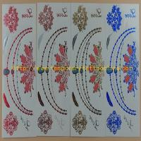 Quality temporary jewelry tattoo women temporary body tattoo for sale