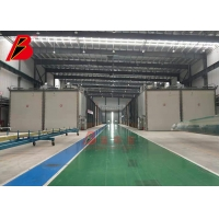China Big Wind Blade Electric Rolling Door BZB Paint Drying Booth on sale