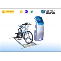 China Indoor Equipment 9D VR Virtual Reality Bike Simulator With Soft Chair on sale