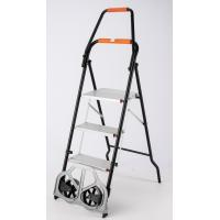 Quality Lightweight Durable Aluminum Telescopic Ladder Foldable Compact Design for sale