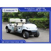 Quality Without roof   4 Wheel 4 Person Electric Club Car Golf Carts With 48V Battery Powered for sale