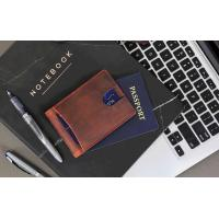 Buy RFID Blocking Slim Bifold Genuine Leather Minimalist Front Pocket Wallets for at wholesale prices