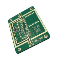 China Castellated Edges Matte 1.55mm 35um Multilayer PCB Board on sale