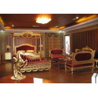 ... Buy Golden Wood Wedding Bedroom Furniture Sets King Throne Beds For  Wholesale At Wholesale Prices ...