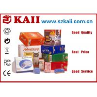 China Small Recyclable Corrugated Paper Packing Boxes / 250g Grey Paper + C9 For Food on sale