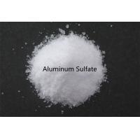 Quality White Crystal Water Clarifying Agent , High Purity Aluminum Sulfate Crystals for sale