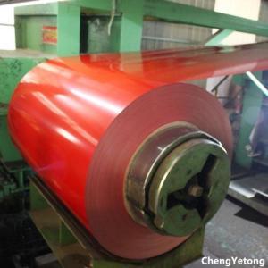 Quality Outdoor Building Material Coated Aluminum Coil , PET Film Laminated Coil Coated Aluminium for sale