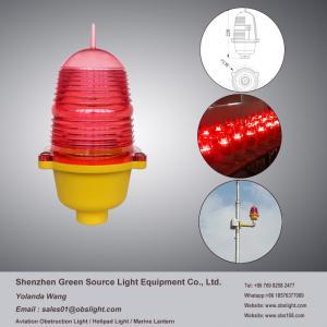China FAA L-810 China factory Quality Red single Aviaiton Beacon Aircraft Warning light on sale