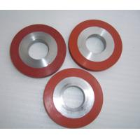 Quality 250 C temperature resistant heat transfer rubber silicon roller for sale