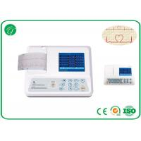 China Adjustable Parameters Single Channel Ecg Machine With 12 Leads Ni-Mh Battery on sale