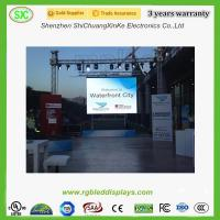 Buy cheap P4.81 Rental led sign , Indoor Advertising LED Display 500*500mm or 500*1000mm from Wholesalers