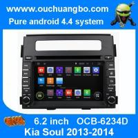 Quality Ouchuangbo Auto GPS Navigation Stereo Radio for Kia Soul 2013-2014 DVD Radio 3G Wifi Video Android 4.4 System OCB-6234D for sale