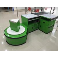 Quality Custom Automatic Checkout Counter With Conveyor Belt for sale