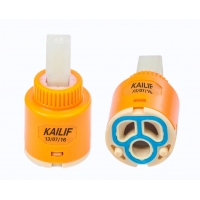 Buy cheap Low Torque Double Seal 25mm Ceramic Cartridge For Water Faucet And Tap from wholesalers