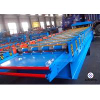 Quality Glazed Tile Sheet Metal Forming Equipment , High Precision Roll Forming Equipment for sale
