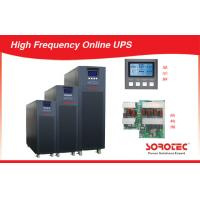 China Black 20kVA 1800W high frequency ups Power Supply with Double Conversion on sale
