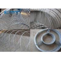 China Custom Concertina Wire Fencing Straight Blade Netting Protection For Security Windows on sale