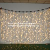 Quality christmas curtain lights outdoor decoration for sale