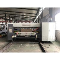Quality Lead Edge Flexo Printer Slotter Die Cutter With Folder Gluer In Line / Case Maker Machine for sale