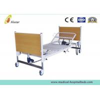 China Simple Electric Medical Hospital Beds / Home Care Bed Linak Motor With Mattress (ALS-HE005) on sale