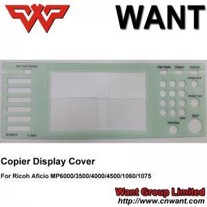 Quality MP6000 MP1060 MP1075 MP3500 MP4000 MP4500 Copier Display Cover compatible For Ricoh Aficio Copier for sale