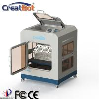 Quality Large Industrial CreatBot 3D Printer Dual Extruders Automatic With Color Touch Screen for sale
