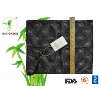 Buy Black Anti Resistant Waterproof Wet Bag Single Drawstring / Zipper Available at wholesale prices