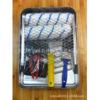 Quality High Quality Paint Roller Kits With 9 Inch Metal Tray for sale