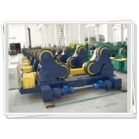 China Pipe Self-aligned Welding Rotator For Vessels , Heavy Duty Rotator on sale