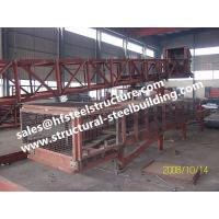 China SGS Industrial Steel Buildings For Towers Chutes Conveyor Frame / Material Handling Equipment on sale