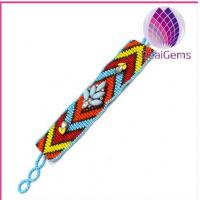 Quality 2014 popular Colorful seed bead bracelet wholesale for sale