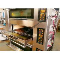 Quality Stone Deck Pizza Oven , Stainless Steel Door Commercial Bread Oven for sale