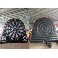 Quality Interesting Air Inflated Fun Games Football Dial Inflatable Dart Board for sale