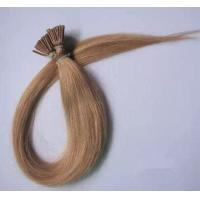 """Quality Fashional 100% Human Remy Hair 10"""" to 30"""" Light Golden Brown Silky Straight  I Tip Hair Extension for sale"""