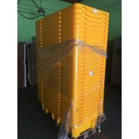 China Four Drum Spill Containment Pallets , HDPE Oil Drum Containment Pallet Stackable on sale
