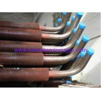China CuNi 90/10 Shape Type Heat Exchanger Fin Tube 25.4MM 1 Finned Copper Tube(Tuberia aleada de cobre) on sale