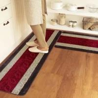 Quality 5mm Thick Pvc Backing Polyester area rugs For Kitchen / Living Room for sale