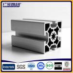 Quality Silver anodized aluminium profiles fabricate windows&doors frames for sale