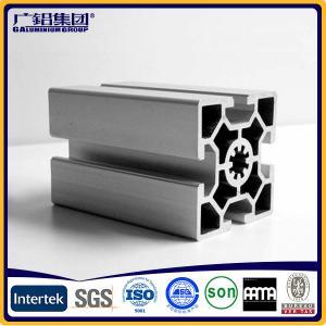 Silver anodized aluminium profiles fabricate windows&doors frames