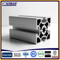 Buy Silver anodized aluminium profiles fabricate windows&doors frames at wholesale prices