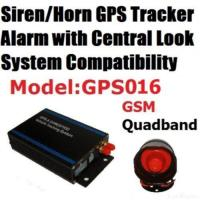 Quality Sms/gsm/gprs High Security Siren Car Gps Alarm Tracking System for sale