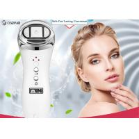 Quality Portable Radio Frequency Face Lift Device , Ultrasonic Ion Face Beauty Stimulator for sale